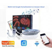 Smart Life @ home WiFi led strip met disco functie